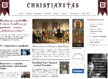 Nový portál Christianitas.sk